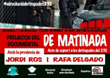 "Documental ""De matinada"""